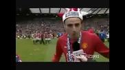 Първото интервю на Димитър Бербатов след като стана шампион на Англия