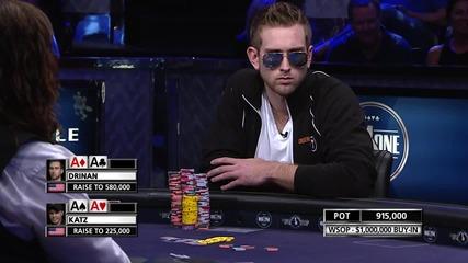 Играч на покер губи 1 милион в епично раздаване