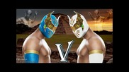 Wwe Sin Cara 1st Theme Abstract By Jim Johnstonhigh Quality