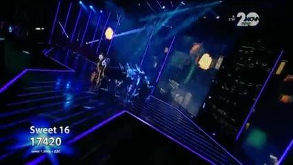 Sweet 16 - X Factor Live (11.11.2014)