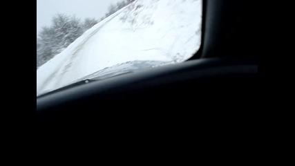 януарска разходка сред хубавия сняг
