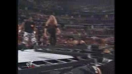WWE - Wrestlemania 16 - Edge and Christian vs Dudley BoyZ vs Hardy BoyZ - LADDER match !** ЧАСТ 1**