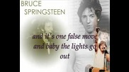 Bruce Springsteen - Point Blank (Текст)