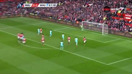 Пайе порази Юнайтед с пореден шедьовър през сезона