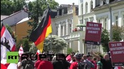 Germany: Antifa clash with police, forcing far-right march to turn back