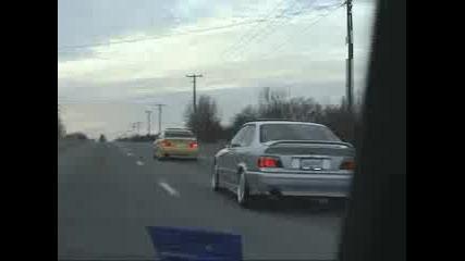 BMW и Audi Въртене и Магистрала