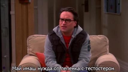 Теория За Големия Взрив Сезон 6 Епизод 19 - The Big Bang Theory - превод - субтитри бг