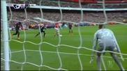 ВИДЕО от първата част на Арсенал - Ливърпул