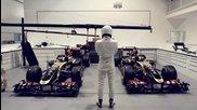 Стиг вилнее в базата на Лотус Рено F1