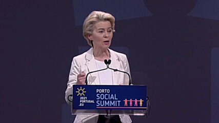 Portugal: Von der Leyen calls on US and others to ramp up vaccine exports before discussing IP waiver