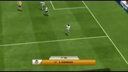 Звезди на Валенсия изпробват Fifa 13