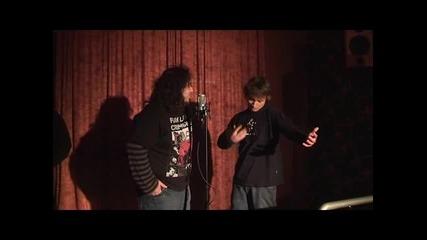Лига на разказвачите@groovy bar, Бургас - Кристиян и Яро