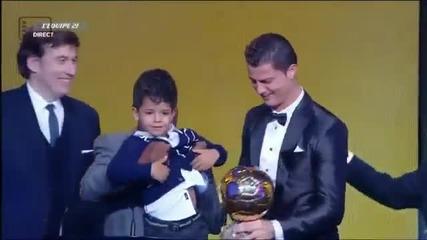 Ballon D`or 2013! Победител - Кристиано Роналдо