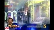 Смях в Music Idol - Фенове на Тома буквално падат върху колената му - Господари на ефира 20.06.08 Hi