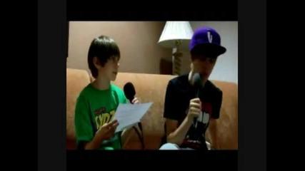 Justin - Bieber - Dj Роби .. Интервию с Jb