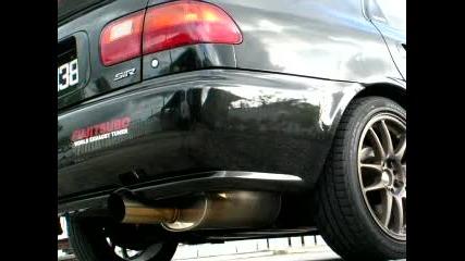 Мощен Звук От Honda Civic !
