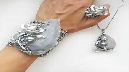 Луксозна зимна колекция с бижута за жени - сезон Зима 2018