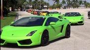 The World's Best Supercars »» Lamborghini Aventador Vs Murcielago Vs Gallardo Compilation