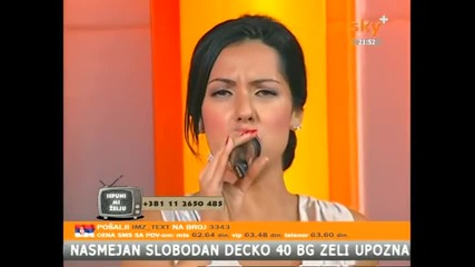 Tanja Savic - Poziv (Live) - Tv Sky Plus 2014
