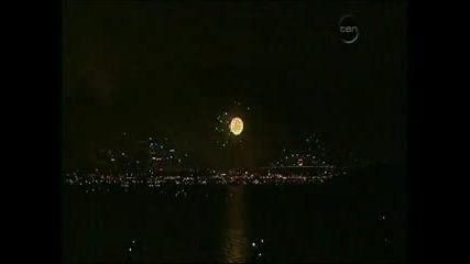 Ето Как Посрещат 2008 В Австралия