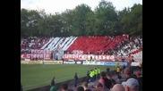 Хореографията на Сектор Г на мача Цска - Черно Море 2:2