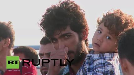 Гърция: Брегова охрана спаси емигранти в близост до остров Кос