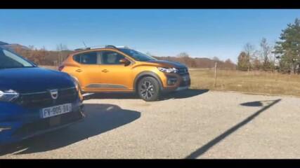 Работни кончета - Dacia Sandero и Ford Transit 4x4 - Auto Fest S04EP13