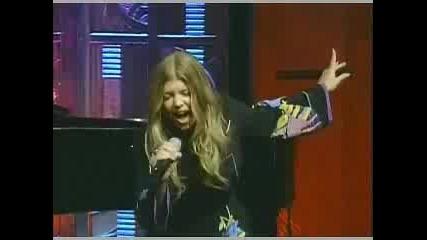 Fergie - Finally Live (regus & Kelly Show)