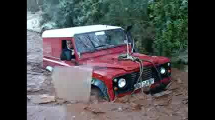 Тест на Land Rover Defender