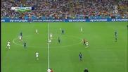 Финал Световно Първенство по Футбол 2014 - Последните 15 минути с Немски коментар на Ard