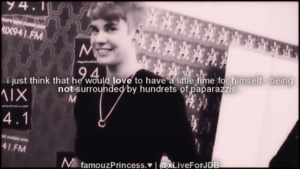 he loves us probably more than you could ever imagine.. justin drew ...