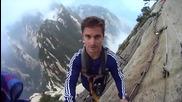 Опасна разходка в планината Хуашан - Китай