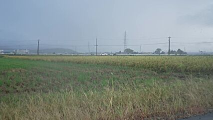 Japan: Tropical storm Chanthu passes through Maruoka