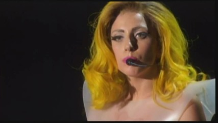 Lady Gaga - Укоражаваща реч на живо At The Monster Ball Tour (превод)