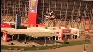Най - дългият скок със моторна шейна - Световен рекорд