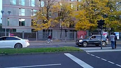 Germany: Pro-Armenia motorcade hits Berlin amid Nagorno-Karabakh conflict