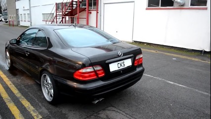 W208 Clk55 Amg Cks Sport Exhaust