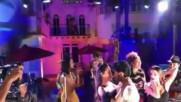 Carmen Villalobos, Fabian Rios y Catherine Siachoque Bailando