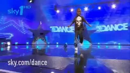 10 г.невероятен танцьор
