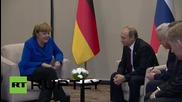 Turkey: Putin and Merkel meet on sidelines of G20 Summit