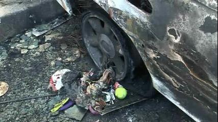 3 коли горяха в центъра на Варна