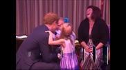 Първа публична поява на принц Хари след скандала с голите му снимки