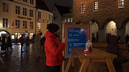 Estonia: Christmas fair opens in Tallinn amid COVID-19 restrictions