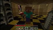 #4 Minecraft[в мината] survival Със vencopenco и theddy