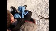 Вики и Ици се пързалкат