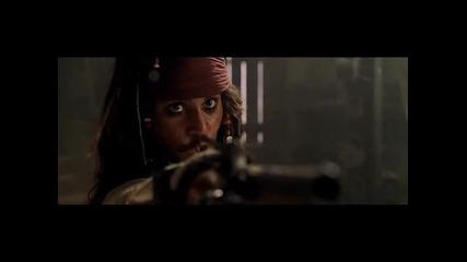 Карибски Пирати: Пролякието На Черната Перла на български част 2 - ва / Добро Качество /