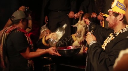 Mexico: Bloody animal sacrifice made to invoke the devil at 'Black Mass' *GRAPHIC*