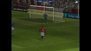 Everton 1-2 Manchester United ( fifa online 2 )
