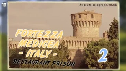 10 Необичайни Затвори