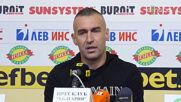 """Камбуров: Резултатите ни са перфектни, надиграха ни единствено на """"Герена"""""""